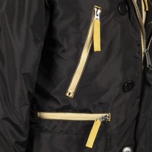 Куртка аляска Alpha Industries N-3B Inglement black