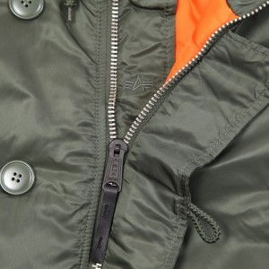 Куртка Аляска Alpha Industries N-3B Olive/Orange