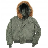 Куртка Alpha Industries N-2B sage green