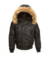 Куртка Alpha Industries N-2B black